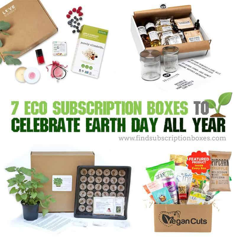 Eco Subscription Boxes to Celebrate Earth Day All Year