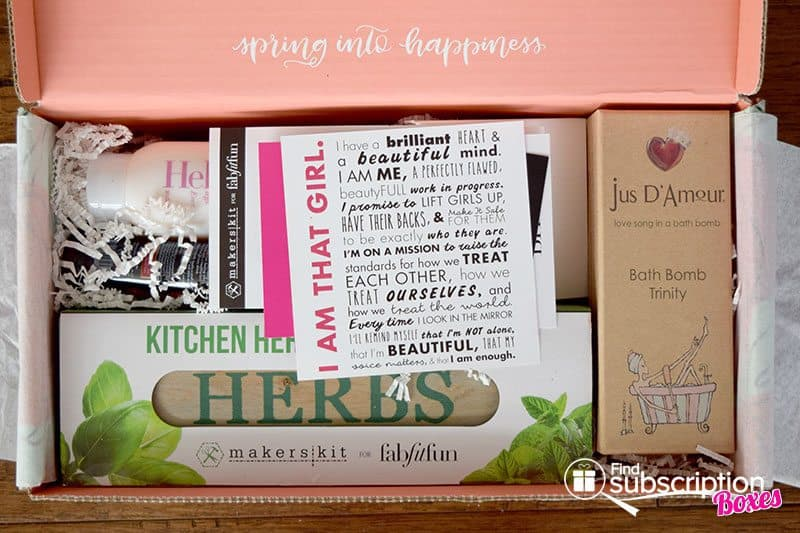 FabFitFun Spring 2016 VIP Box - First Look