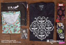February 2016 Loot Crate Level Up - Box Contents