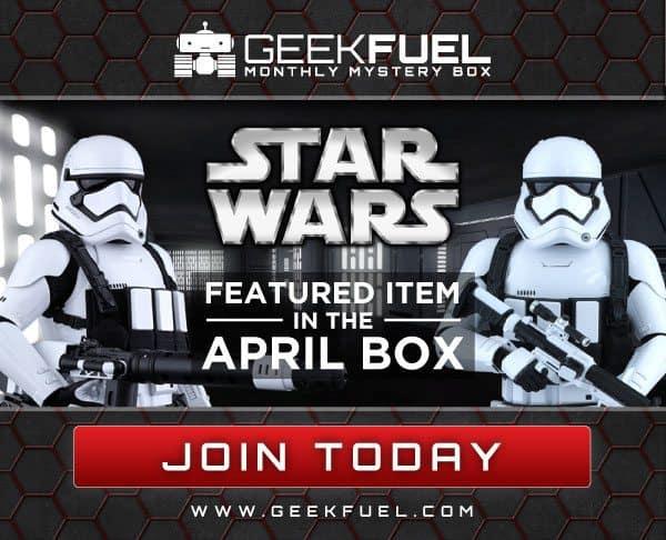 Geek Fuel April 2016 Box Spoiler - Star Wars