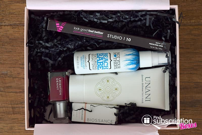GLOSSYBOX April 2016 Box Review - First Look