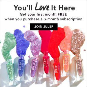 Julep Maven First Month Free