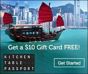Kitchen Table Passport Coupon - $10 Free Gift Card