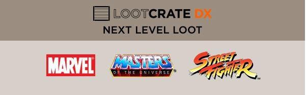 Loot Crate DX May 2016 Box Spoilers