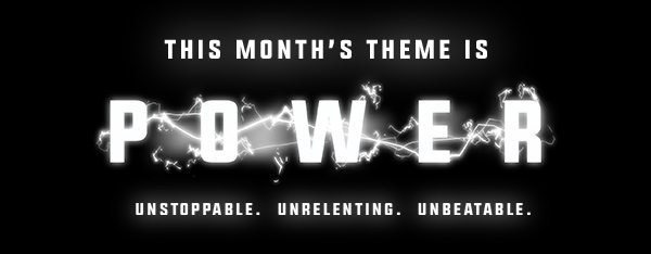 Loot Crate May 2016 Box Theme - POWER
