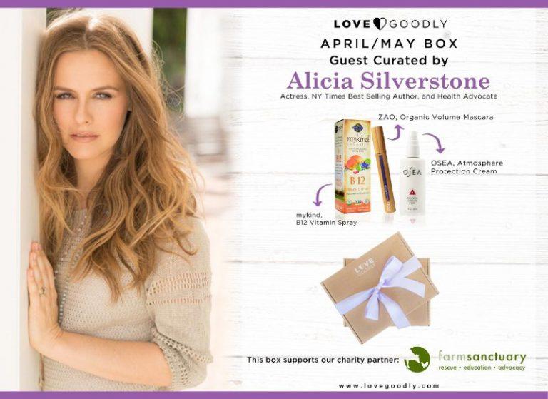 April/May Love Goodly Box Spoiler - Alicia Silverstone
