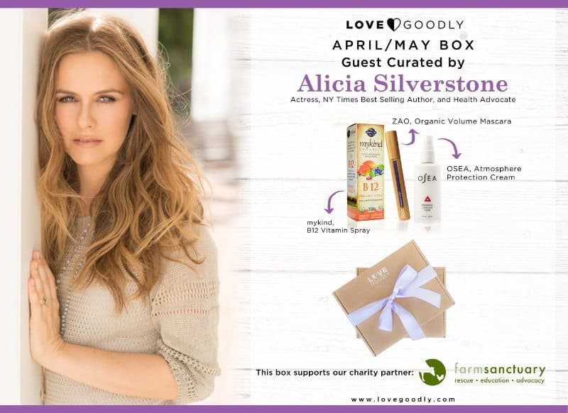 April/May 2016 LOVE GOODLY Earth Day Box Spoilers - Alicia Silverstone