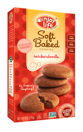 Love WIth Food May 2016 Box Spoilers - Enjoy Life Soft Baked Snickerdoodle Cookies