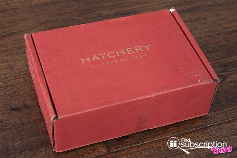 March 2016 Hatchery Tasting Box Review - Box