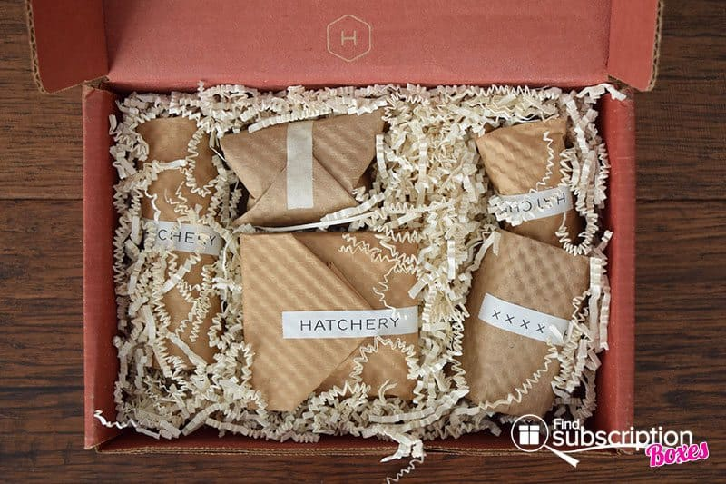 March 2016 Hatchery Tasting Box Review - First Look
