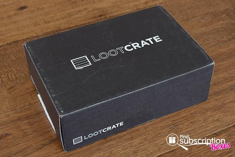 March 2016 Loot Crate Review - Versus Crate - Box