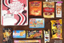March 2016 MunchPak Review - Box Contents