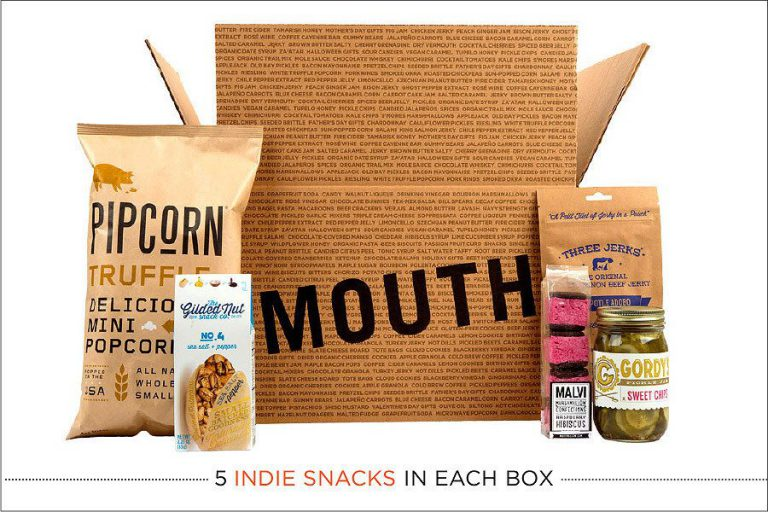 Mouth Snacks Every Month by Mouth