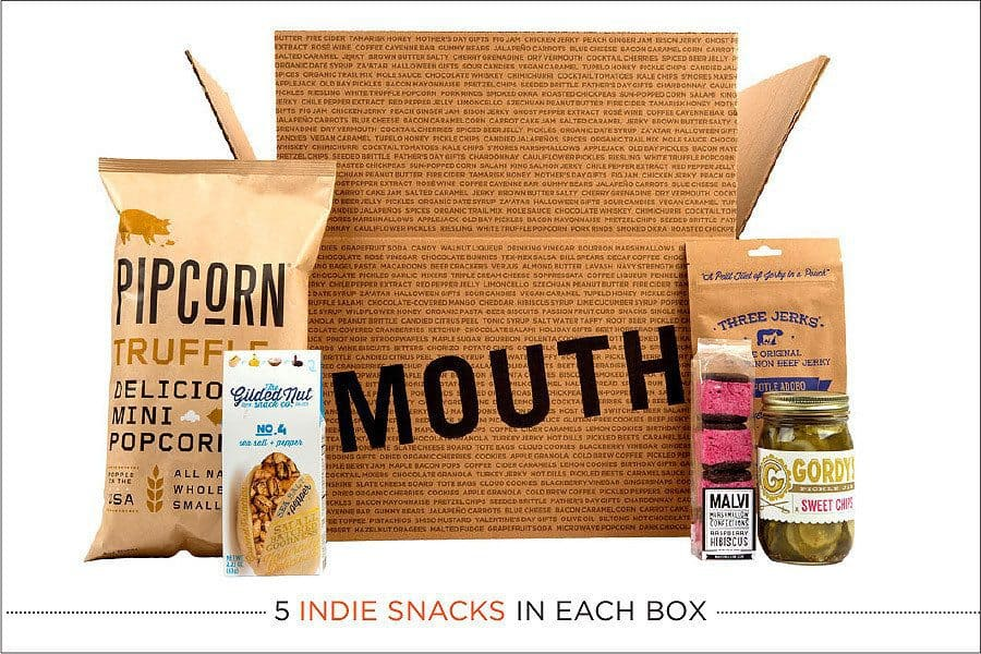 Snacks Every Month By Mouth Find Subscription Boxes