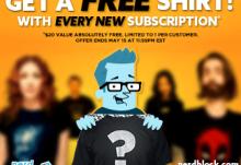 Nerd Block Free Shirt