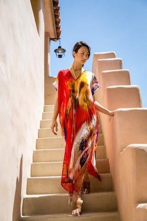 Rachel Zoe Box of Style Summer 2016 Box Spoiler - Michael Stars Pastel Gardens Coverup