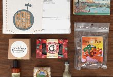 February 2016 Hole In Wall Box Review - Seattle Box Contents