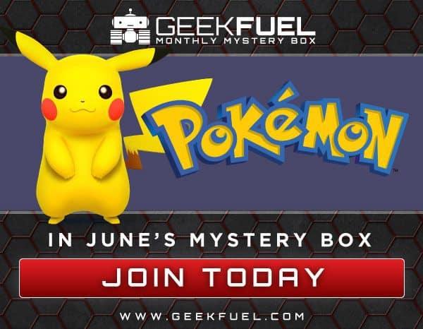 Geek Fuel June 2016 Box Spoiler - Pokemon