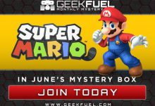 Geek Fuel June 2016 Box Spoiler - Super Mario