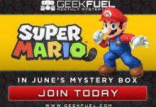 Geek Fuel June 2016 Box Spoiler - Super Mario
