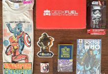 April 2016 Geek Fuel Review - Box Contents