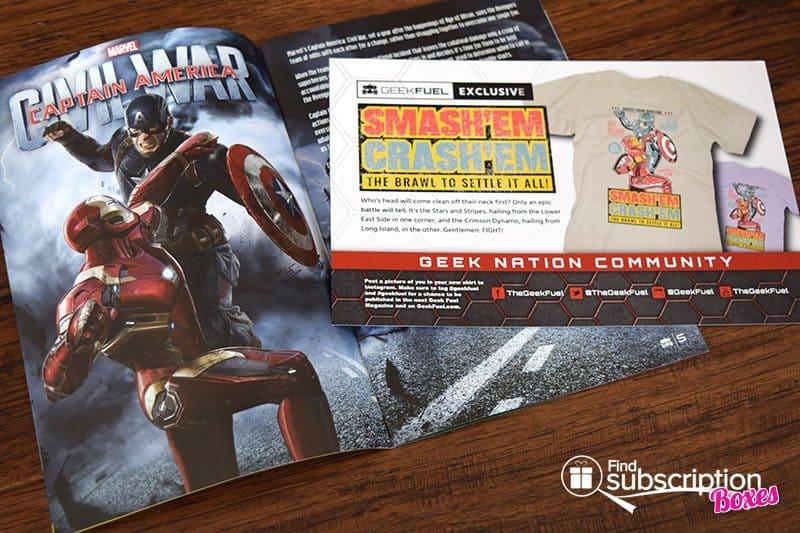 April 2016 Geek Fuel Review - Magazine, Card