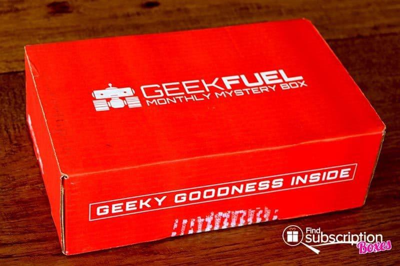 Geek Fuel May 2016 Box Review - Box