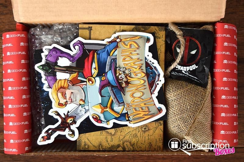 Geek Fuel May 2016 Box Review - First Look