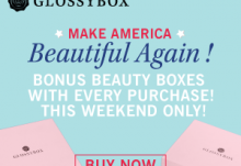 GLOSSYBOX Memorial Day Sale - Get 2 Free Beauty Boxes