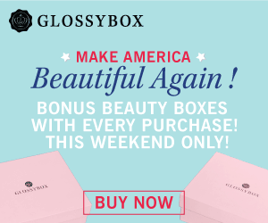 GLOSSYBOX Memorial Day Sale - Get 2 Beauty Boxes Free!