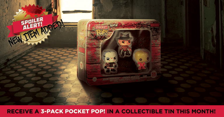 Horror Block May 2016 Box Spoiler - Friday the 13th Funko Pop! Tin