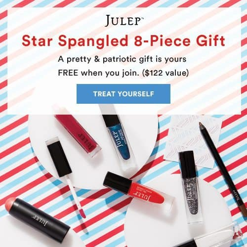 Julep Maven Free Star Spangled Beauty Gift