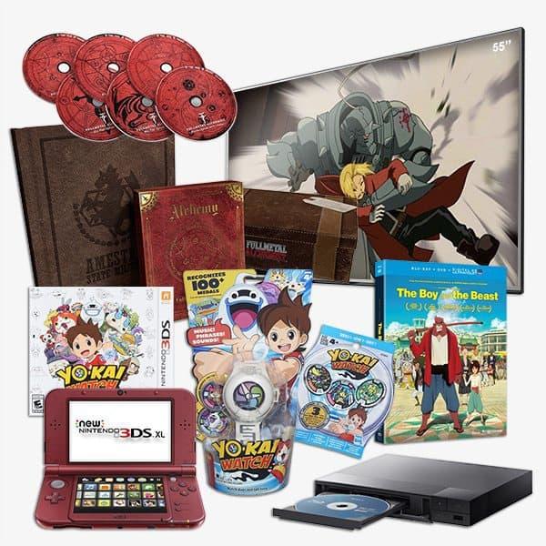 Loot Anime May 2016 Kaiju Crate