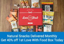 Love With Food 40% Off Deluxe Snack Box