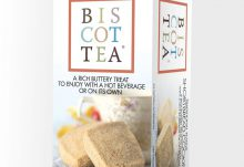 Love With Food June 2016 Box Spoiler - Biscottea Shortbread Cookies