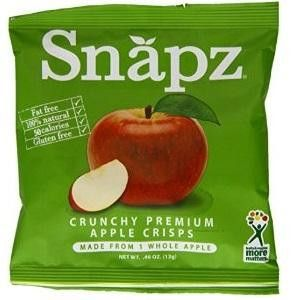 Love With Food June 2016 Box Spoiler - Snapz Organic Crunch Dried Apple Crisps