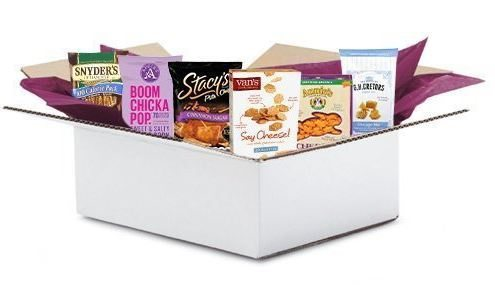 May 2016 Amazon Snack Foods Sample Box
