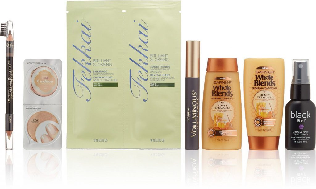 Amazon Women's Makeup & Hair Care Beauty Sample Box
