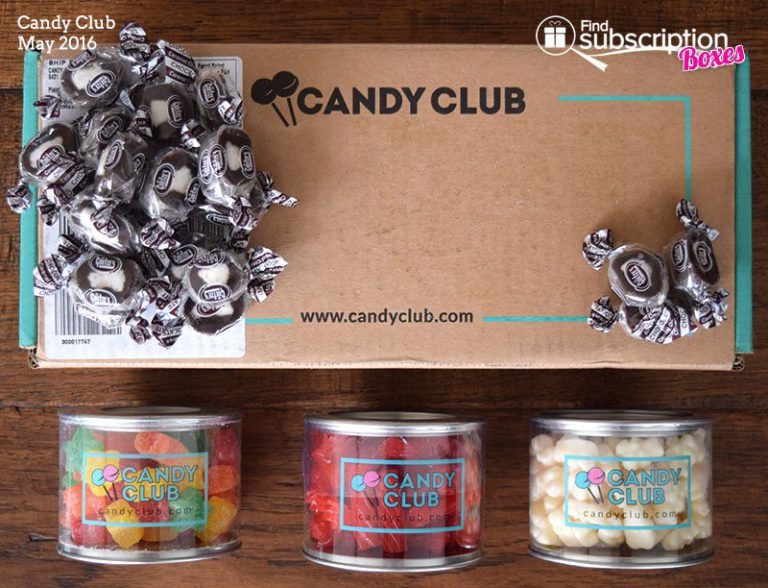 May 2016 Candy Club Review - Box Contents