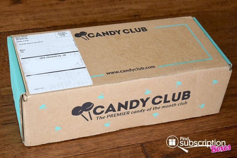 May 2016 Candy Club Review - Box