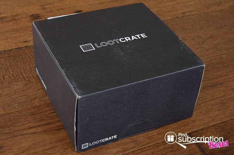 May 2016 Loot Crate Review - Power Crate - Box