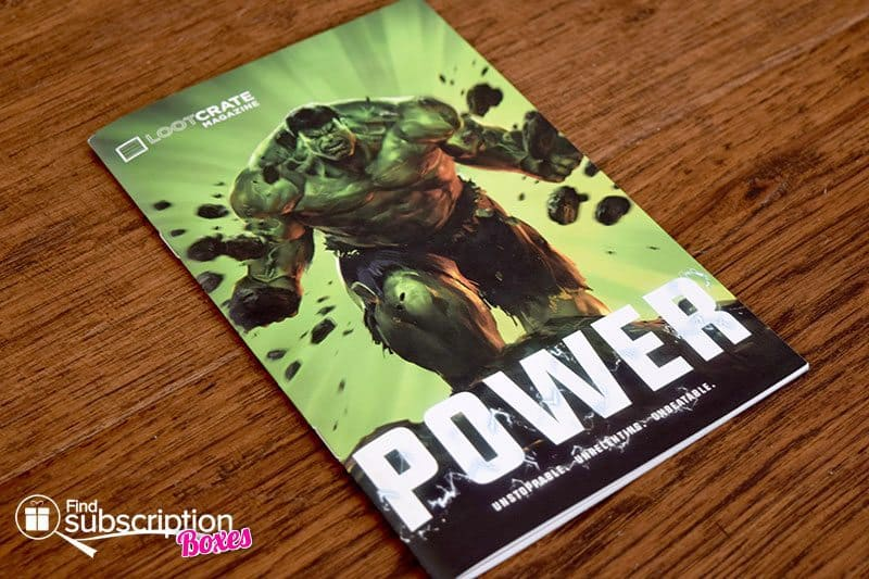 May 2016 Loot Crate Review - Power Crate - LC Magazine