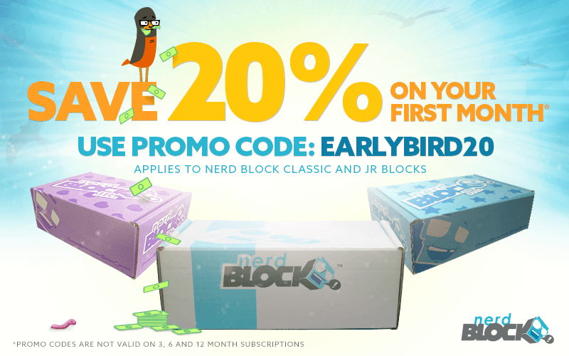 Nerd Block 20% Off Coupon
