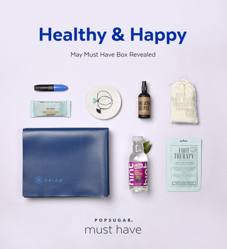 POPSUGAR May 2016 Must Have Box Reveal