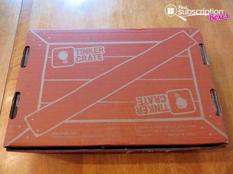 Tinker Crate April 2016 Review - Box