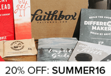 Faithbox Coupon - Save 20%