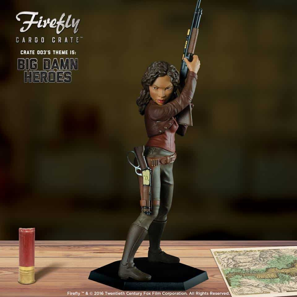 Firefly Cargo Crate July 2016 Box Spoiler - Zoe Little Damn Heroes Figure