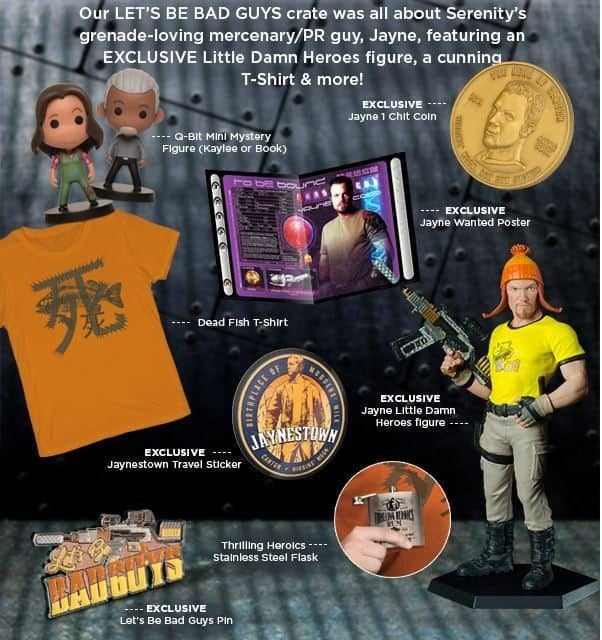 Firefly Cargo Crate May 2016 Reveal