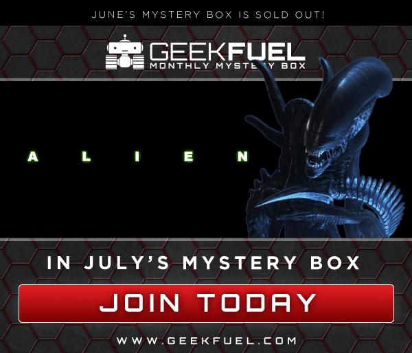 Geek Fuel July 2016 Box Spoiler - Alien