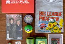June 2016 Geek Fuel Review - Box Contents